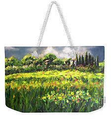 Storm In Tuscany Weekender Tote Bag