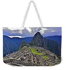 Storm Inbound To Machu Picchu Weekender Tote Bag