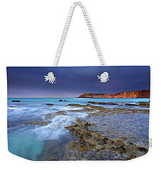 Storm Light Weekender Tote Bag by Mike  Dawson