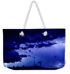 Storm On Farmer's Turnpike Weekender Tote Bag