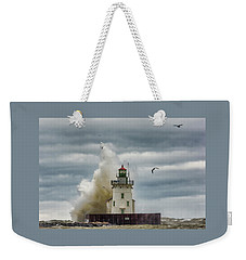 Storm On Lake Erie Weekender Tote Bag