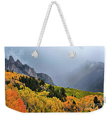 Storm On Million Dollar Highway Weekender Tote Bag