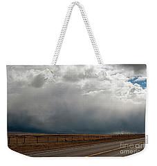 Storm On Route 287 N Of Ennis Mt Weekender Tote Bag