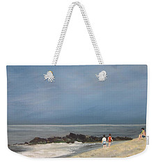 Storm Out To Sea Weekender Tote Bag