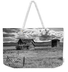 Storm Over Big Sky Montana Weekender Tote Bag