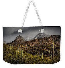 Storm Over Catalinas 15 Weekender Tote Bag