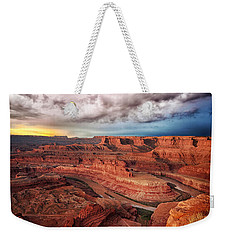 Storm Over Dead Horse Point Weekender Tote Bag