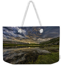 Storm Over Madison River Valley Weekender Tote Bag