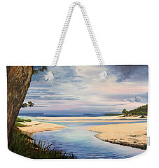 Storm Over Moona Moona Creek Weekender Tote Bag