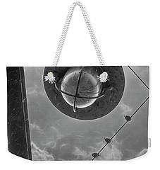 Storm Over The Bridge Weekender Tote Bag