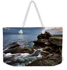 Storm Pass Halibut Pt. Weekender Tote Bag
