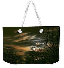 Storm Rollin' In Weekender Tote Bag by J R Seymour