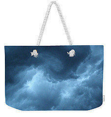 Weekender Tote Bag featuring the photograph Storm Rolling In by Angie Rea