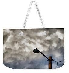 Storm Sentinel Weekender Tote Bag