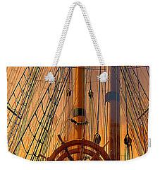 Storm Ship Of Old Weekender Tote Bag
