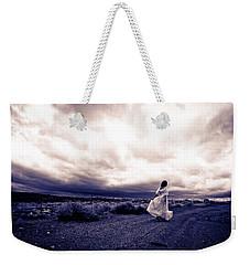 Storm Walk Weekender Tote Bag