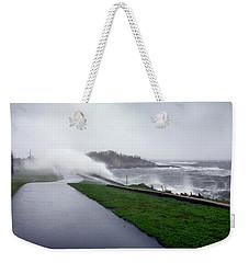 Storm Wall Weekender Tote Bag