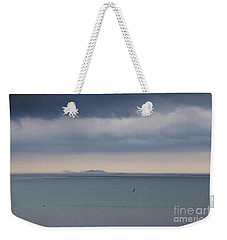 Storm Warning Weekender Tote Bag