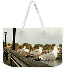 Storm Watch Weekender Tote Bag