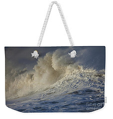 Storm Waves Weekender Tote Bag