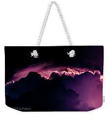 Storms Acomin' Weekender Tote Bag by Stefanie Silva