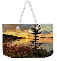 Weekender Tote Bag featuring the photograph Storms Never Lasts by Rose-Marie Karlsen