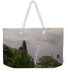 Storms Rolling In Weekender Tote Bag