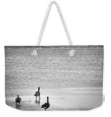 Canada Geese - Currituck Sound Weekender Tote Bag