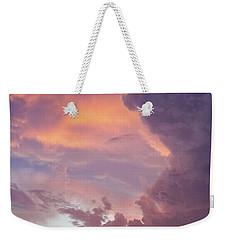 Stormy Clouds Over Texas Weekender Tote Bag by Ken Stanback