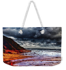 Weekender Tote Bag featuring the photograph Stormy Day by Blair Stuart