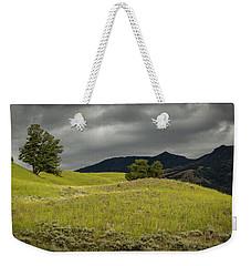 Stormy Fields Of Yellow Weekender Tote Bag