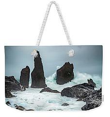 Stormy Iclandic Seas Weekender Tote Bag