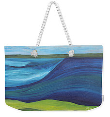 Stormy Lake Weekender Tote Bag
