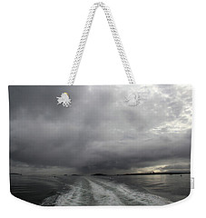 Stormy Morning Weekender Tote Bag