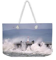 Stormy Morning Weekender Tote Bag