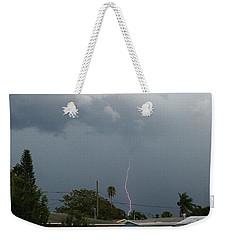 Stormy Night Weekender Tote Bag