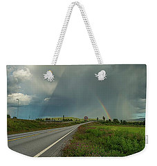 Weekender Tote Bag featuring the photograph Stormy by Rose-Marie Karlsen