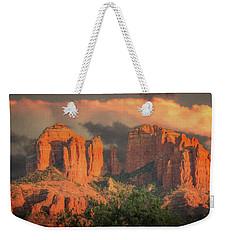 Stormy Sedona Sunset Weekender Tote Bag