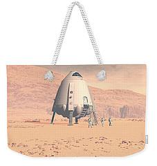 Stormy Skies Weekender Tote Bag by David Robinson