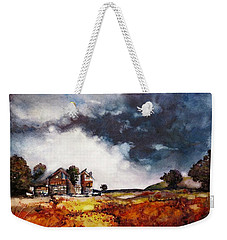 Stormy Skies Weekender Tote Bag by Geni Gorani
