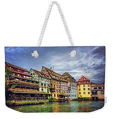 Stormy Skies In Strasbourg Weekender Tote Bag by Carol Japp