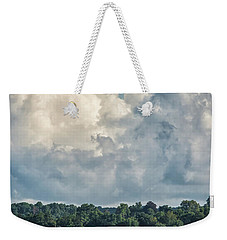 Stormy Sunday Morning On The Navesink River Weekender Tote Bag by Gary Slawsky