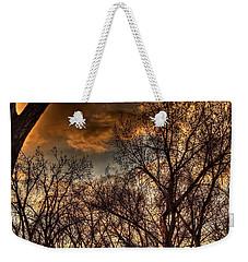 Stormy Sunset 14151 Weekender Tote Bag