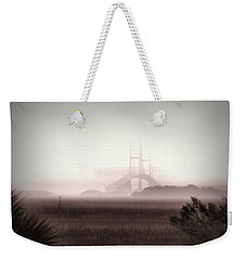 Stormy Surprise Weekender Tote Bag