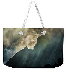 Stormy Wasatch- Rays Weekender Tote Bag