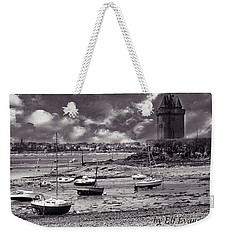 Weekender Tote Bag featuring the photograph Stormy Weather by Elf Evans