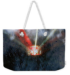 Weekender Tote Bag featuring the photograph Stormy Weather by Nick Kloepping