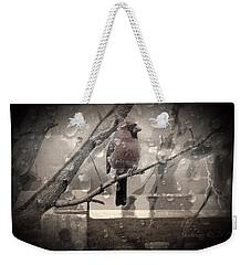 Stormy Window Weekender Tote Bag