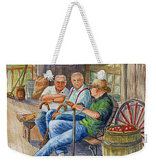 Storyteller Friends Weekender Tote Bag