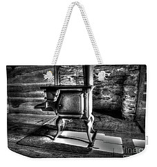 Weekender Tote Bag featuring the photograph Stove by Douglas Stucky